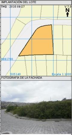 Terreno esquinero en urbanización Los Lirios de Carcelen